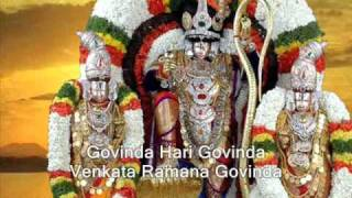 srinivasa govinda govinda namavali with english subtitles