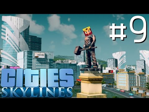 Cities Skylines Let's Play: Part 9 ►Traffic Reduction◄ (Gameplay & Tutorial 1080p 60fps)
