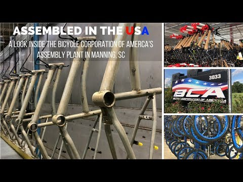 Bicycle Corporation of America Assembly Plant - Manning SC