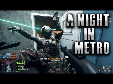 Battlefield 4 A Night In Metro - Salt Included