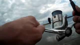 Рыбалка на Можайском водохранилище на спиннинг.  Лето 2019.