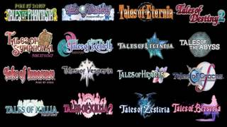 all main tales of series first battle themes