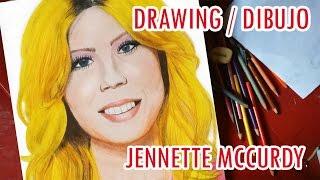 Dibujo Jennette Mccurdy - Drawing Jennette Mccurdy (Sam) icarly (VIVAS)