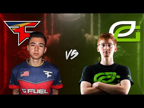 FaZe Clan vs OpTic Gaming  Wtf FaZe!