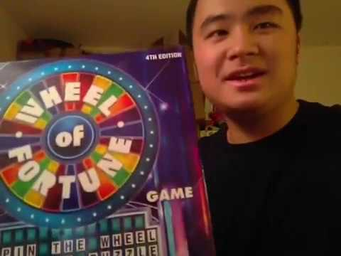 Wheel of Fortune Game - 4th Edition by Pressman Toy ...