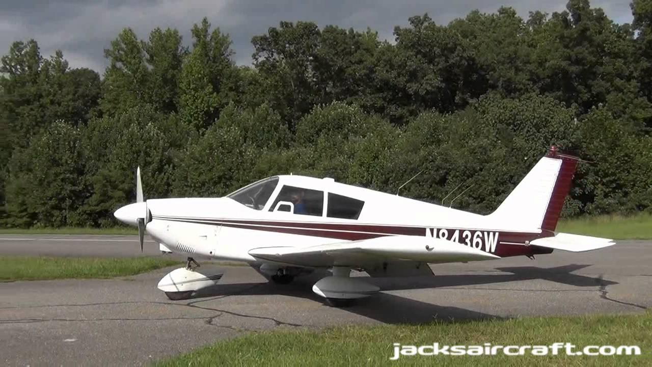 1965 Piper Pa 28 180 Cherokee 180 N8436w Youtube