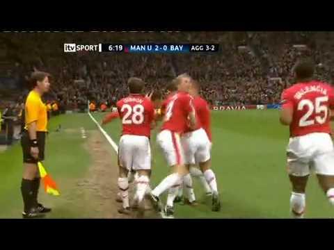 Manchester United 3-2 Bayern Munich UCL 2010 Nani outrageous Goal.mp4