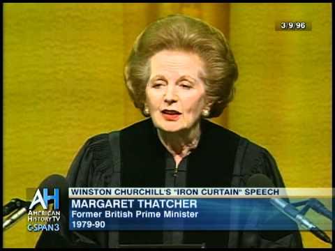 "Margaret Thatcher on Churchill's ""Iron Curtain"" Speech - Preview"