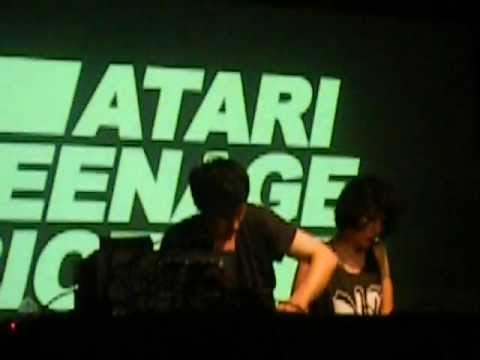 Atari Teenage Riot - Codebreaker//Blood In My Eyes Live In NYC [04-17-12]