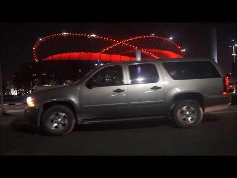 Amazing State of the Art LED Pitch Lighting of Khalifa Stadium | Qatar