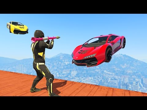 RPGs vs SPORTWAGEN ! (GTA 5 Online Funny Moments)