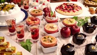 """12/26~2/28 レストランにてウィンターフェアを開催!冬のこだわり料理をお愉しみ下さい。屋外ガーデンにて幻想的に流れる""""イルミエーション..."""