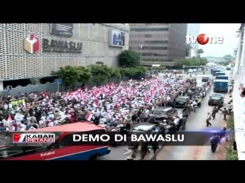 Ratusan Massa Pendukung Kawal BPN ke Bawaslu