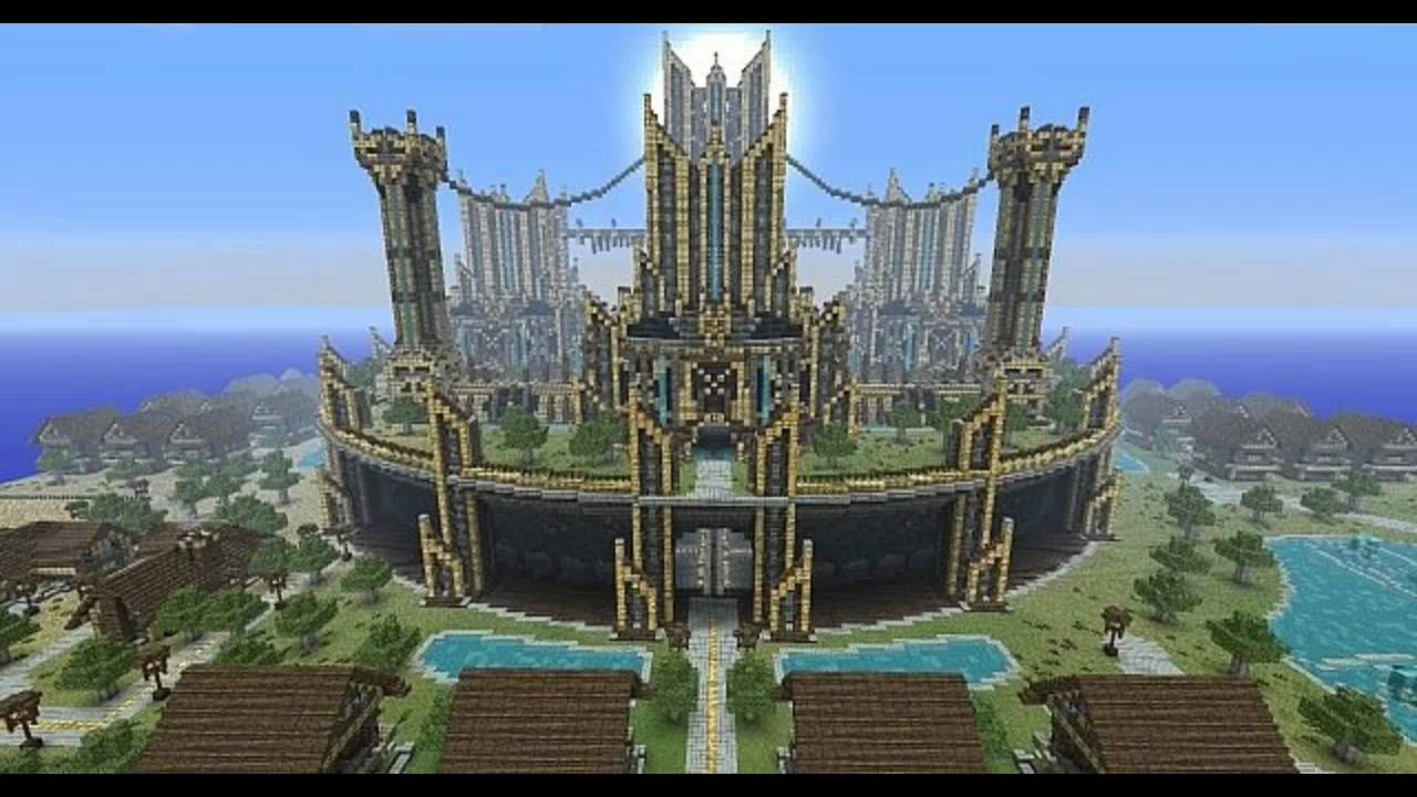 Epic minecraft builds - YouTube