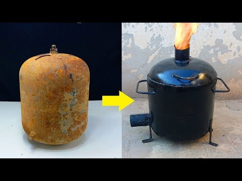 Restoration of Mini Gas Cylinder and Making Metal Foundry