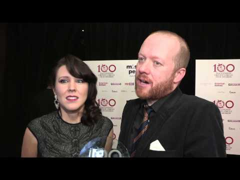 Alice Lowe & Steve Oram- London Critic's Circle Film Award Winner Interview