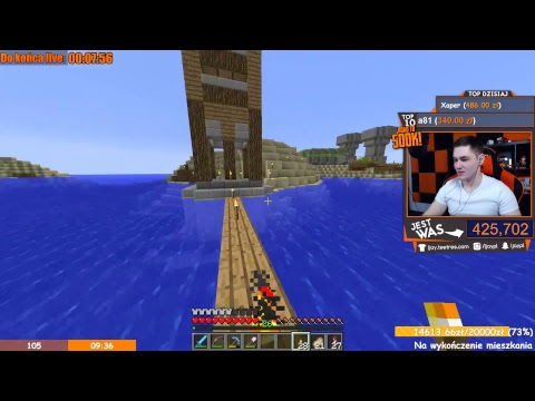 Minecraft z rana! | Jutro live urodzinowy :D