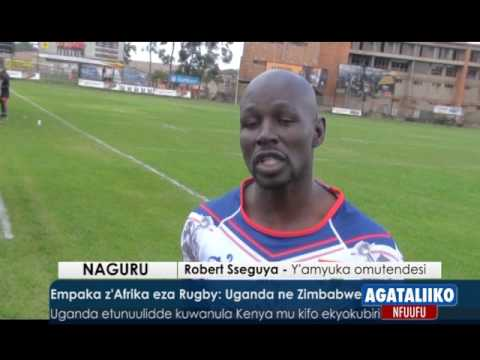 SPORTS: Empaka z'Afrika eza Rugby,Uganda ne Zimbabwe