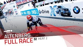 Altenberg | BMW IBSF World Cup 2017/2018 - Men's Skeleton Heat 2 | IBSF Official