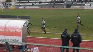 Παναιγιάλειος-Λαμία 1-0(8η αγωνιστική Football League 2016-2017)