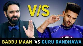 Babbu Maan Vs Guru Randhawa | Babbu Maan Live | Guru Randhawa Live | EXCLUSIVE NEWS | Gabruu