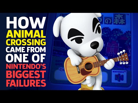 How Animal Crossing Came From One Of Nintendo's Biggest Failures