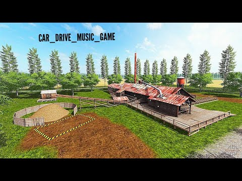 Ферма в Farming Simulator  - строим дом и ферму в Farming Simulator - моды