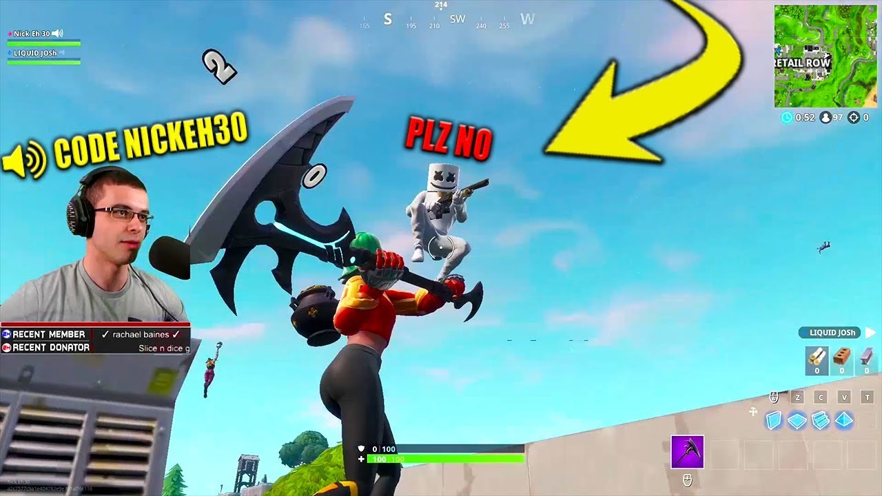 here s why i use code nickeh30 in the fortnite item shop nick eh 30 - nick eh 30 fortnite code