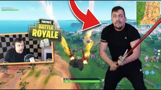 WHEN THEKAIRI78 SE STREAM HACK ON FORTNITE BATTLE ROYALE!