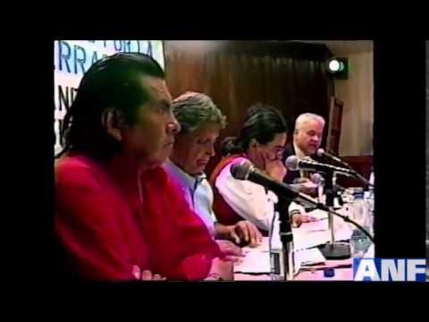 Evo y Goni debatieron el 2002