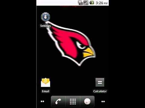 Arizona Cardinals Live Wallpaper By Commentbug.com - YouTube