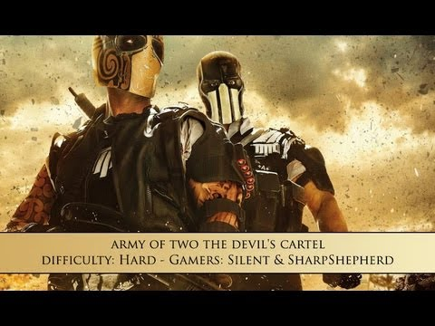 Army of Two: The Devil's Cartel - Outside Contact 15 Stronghold Assault ( Hard, Split-Screen )