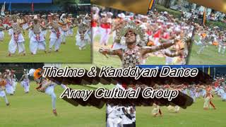 Kanddyan & Thelme Combined Dance - Sri Lanka Army Band - Anjula De Soysa