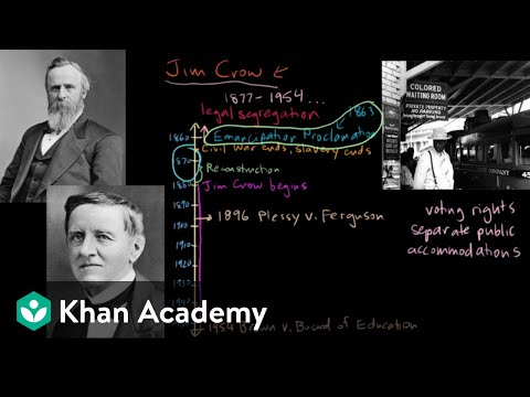 Jim Crow part 4 | The Gilded Age (1865-1898) | US History | Khan Academy