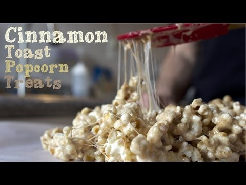 Cinnamon Toast Popcorn Treats - College Cooking Recipes
