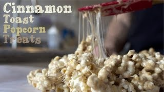 Cinnamon Toast  Popcorn Treats - College Cooking Recipes