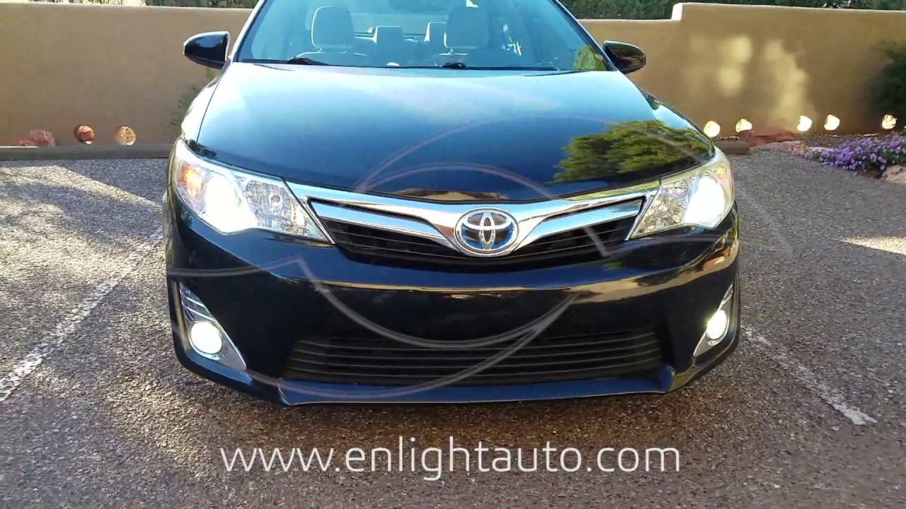 Diy 2007 2014 Toyota Camry Led Fog Lights How To