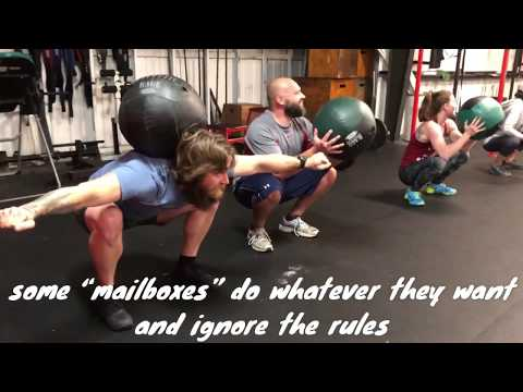 Mailman Crazy fun CrossFit warmup games for your box