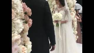 Свадьба Александра Овечкина и Анастасии Шубской
