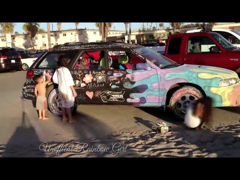 Wow Chalk Board Car at Ocean Heavy Amazing