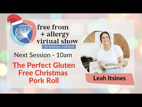 The Perfect Gluten Free Christmas Pork Roll with Leah Itsines