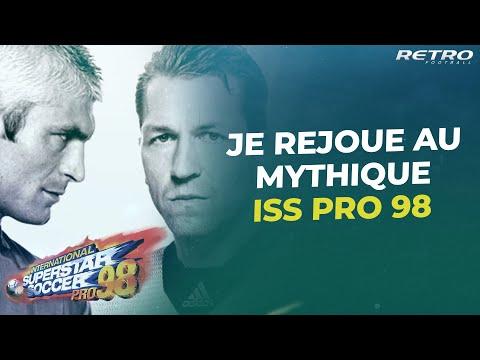 Retro Football : Je joue France-Brésil sur...ISS Pro 98 (Zidane est trop fort)