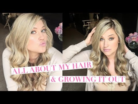 ALL ABOUT MY HAIR!  GROWING IT OUT, STYLING, STAYING BLONDE