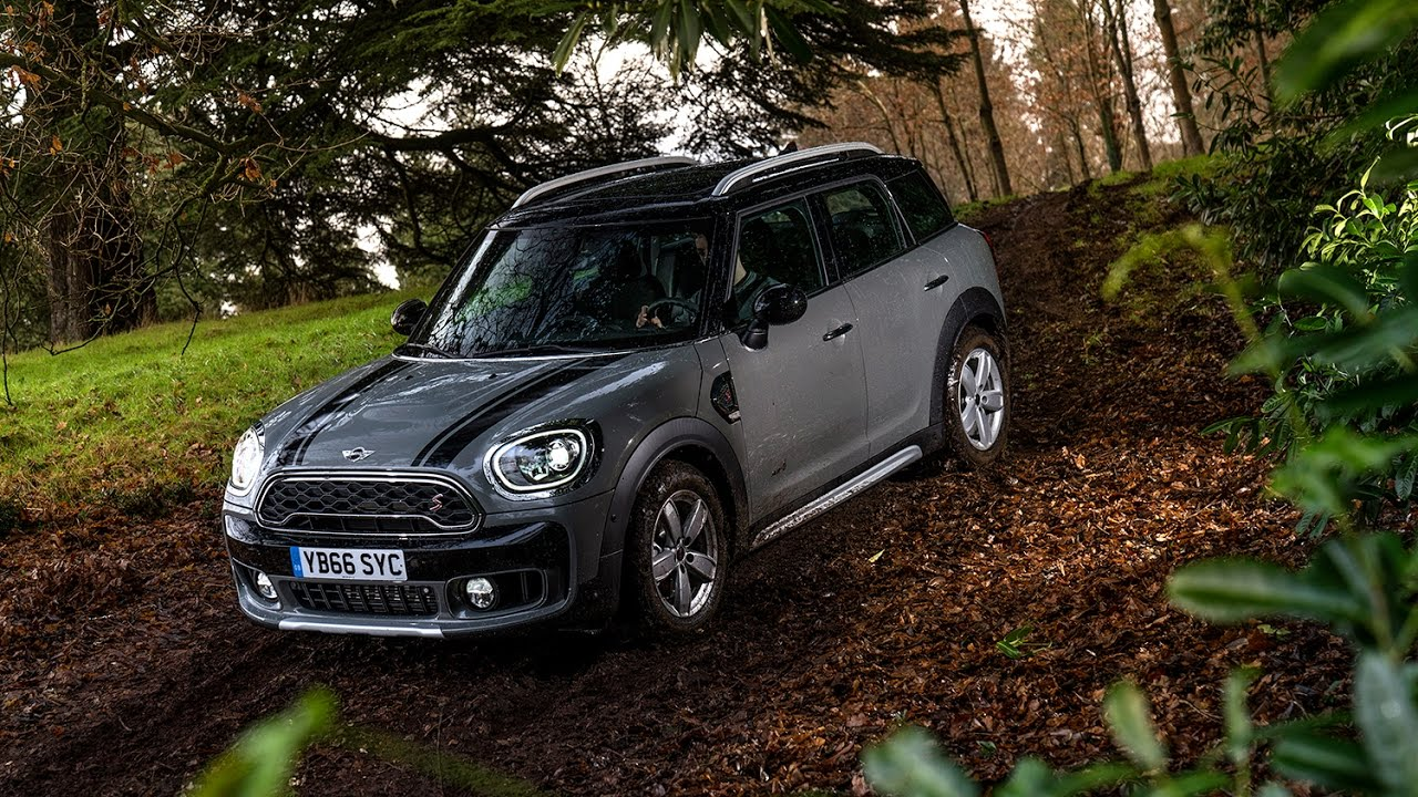 2017 Mini Countryman Cooper S All4 Youtube