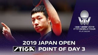 Point of the Day 3 presented by STIGA | Xu Xin | 2019 Japan Open