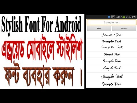 How To Install Fonts On Android Without Root how to install