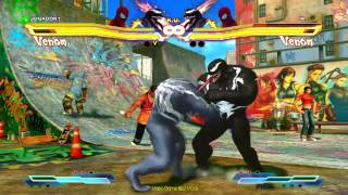 Street Fighter X Tekken PC - Venom - Spider Man