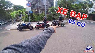 PKL - Siêu mô tô ZX-10R, CBR1000RR, R1 đi xem Motor show gặp xe đạp giá 65 triệu