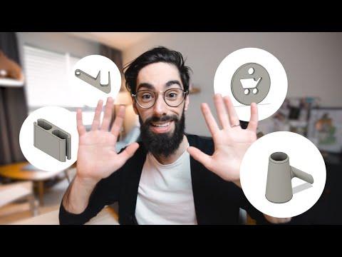 10 Idées d'impression 3D HYPER PRATIQUES (I3D #1)