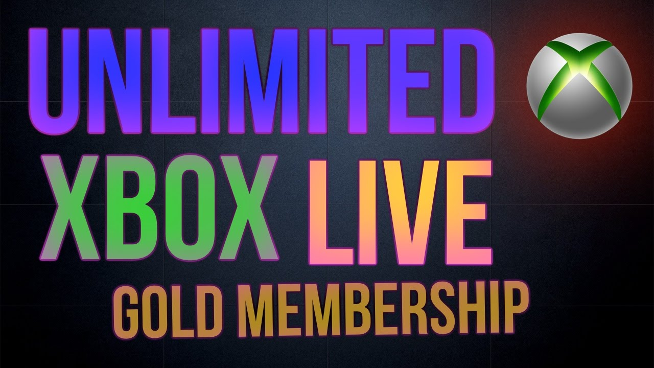 Unlimited Xbox Live Tutorial Free Xbox Live Gold